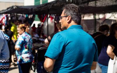 CARPA EN EL MERCADILLO DE VICAR